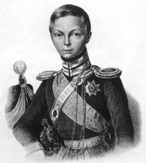 Цесаревич Александр Николаевич (будущий Император Александр II) в мундире обер-офицера Черноморской сотни Лейб-гвардии Казачьего полка (Франц Крюгер, 1827)