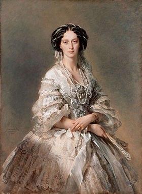 Императрица Мария Александровна (Франц Ксавер Винтерхальтер, 1857)
