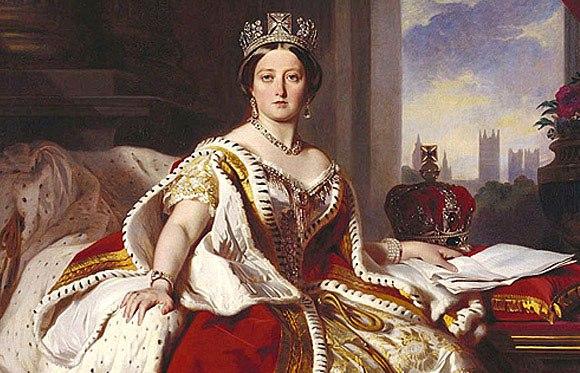 Королева Виктория (Франц Ксавер Винтерхальтер, 1859)
