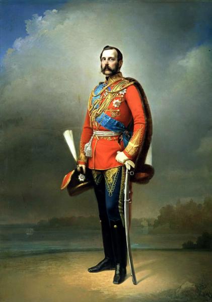 Император Александр II (Николай Лавров, 1873)